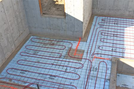 The basement the farm chicks for Warm toes radiant heat